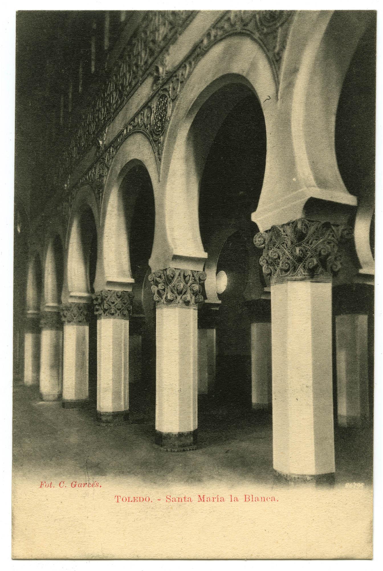 Toledo. - Santa María la Blanca.