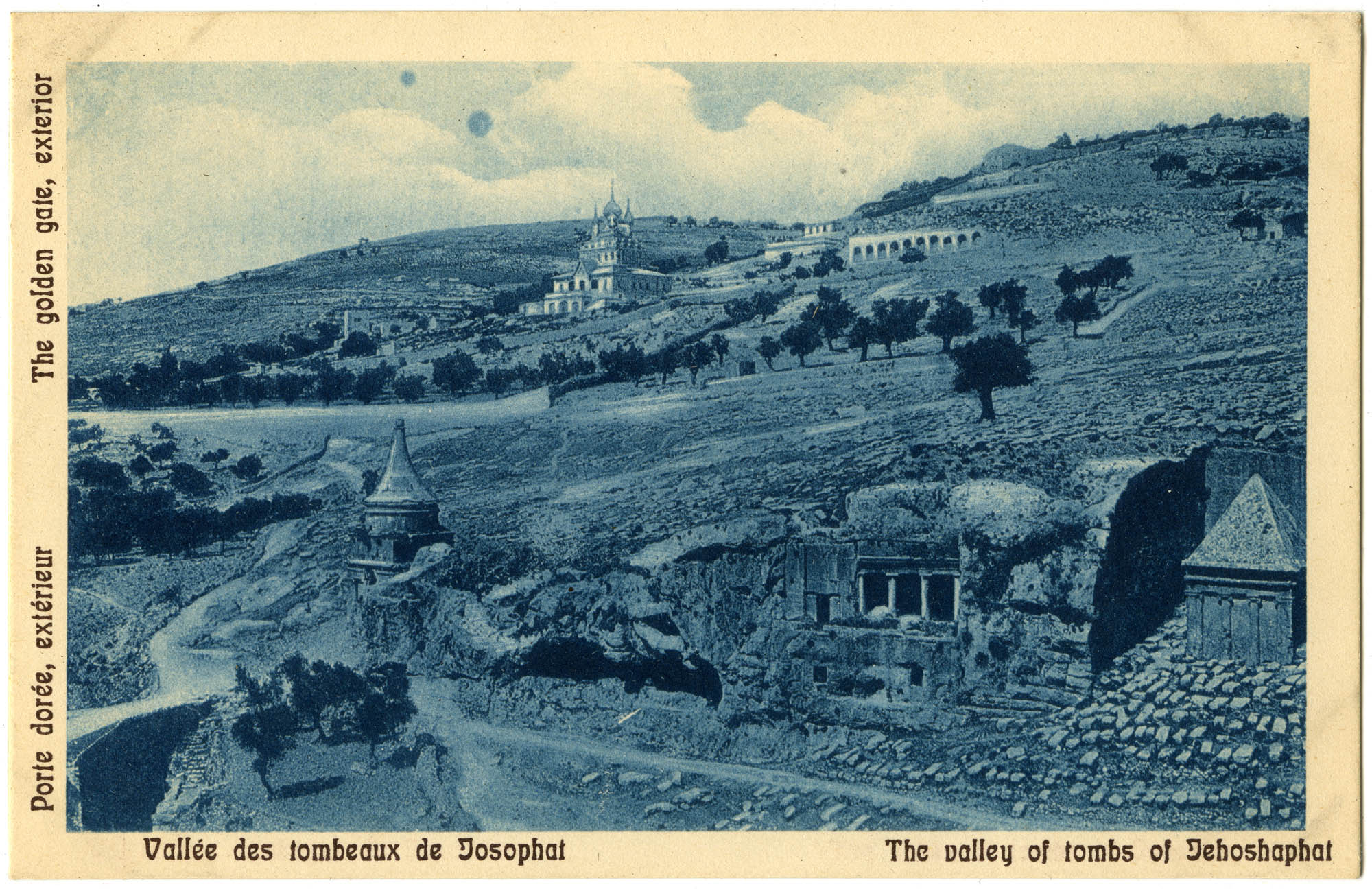 Vallée des tombeaux de Josaphat / The valley of tombs of Jehoshaphat