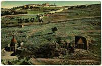 Jerusalem. Gräber im Josaphattal. / Vallée de Josaphat. / Valley of Jehosaphat. / Иосафатова Долина.