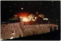 מירון, הדלקת מדורות בל''ג בעומר על קבר בר יוחאי / Meron, fires on Lag Ba'Omer on the tomb of Bar Yohai