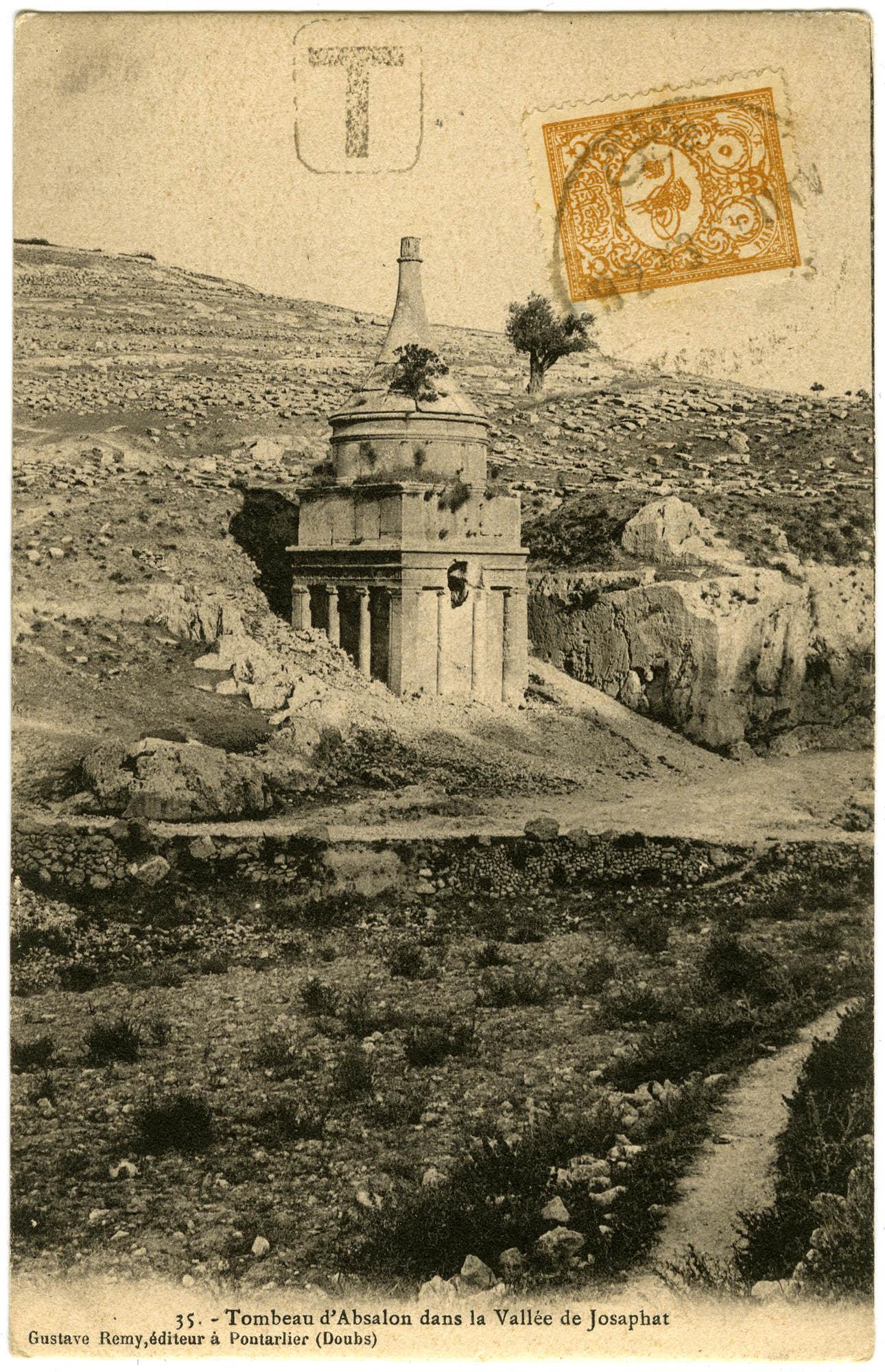 Tombeau d'Absalon dans la Valée de Josaphat