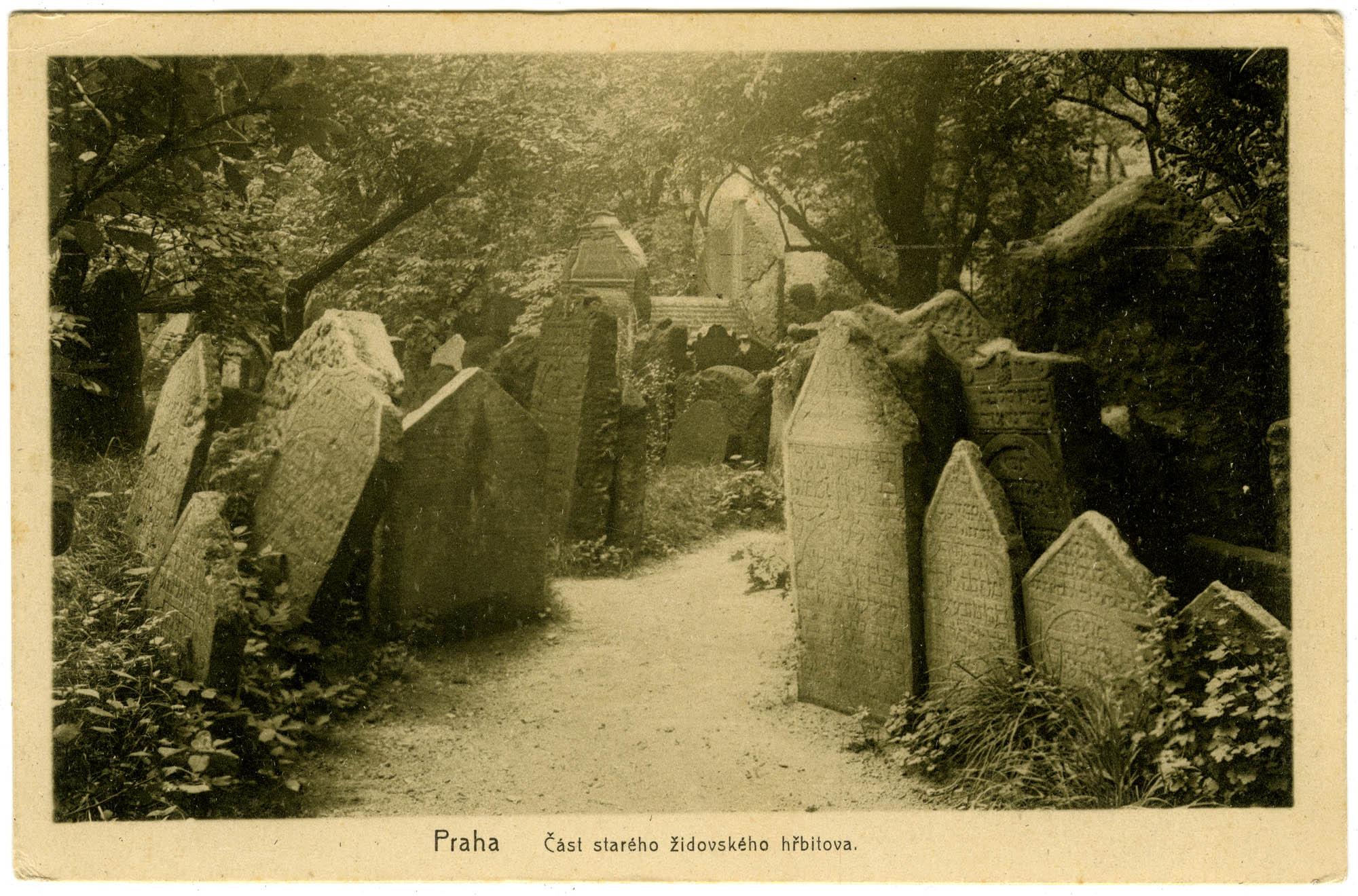 Praha, Část starého židovského hřbitova