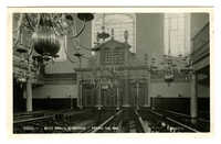 Bevis Marks Synagogue - facing the ark