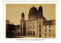 Die Synagoge in der Oranienburger Straße