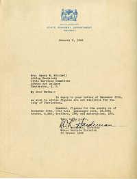 Folder 43: Hardeman Letter
