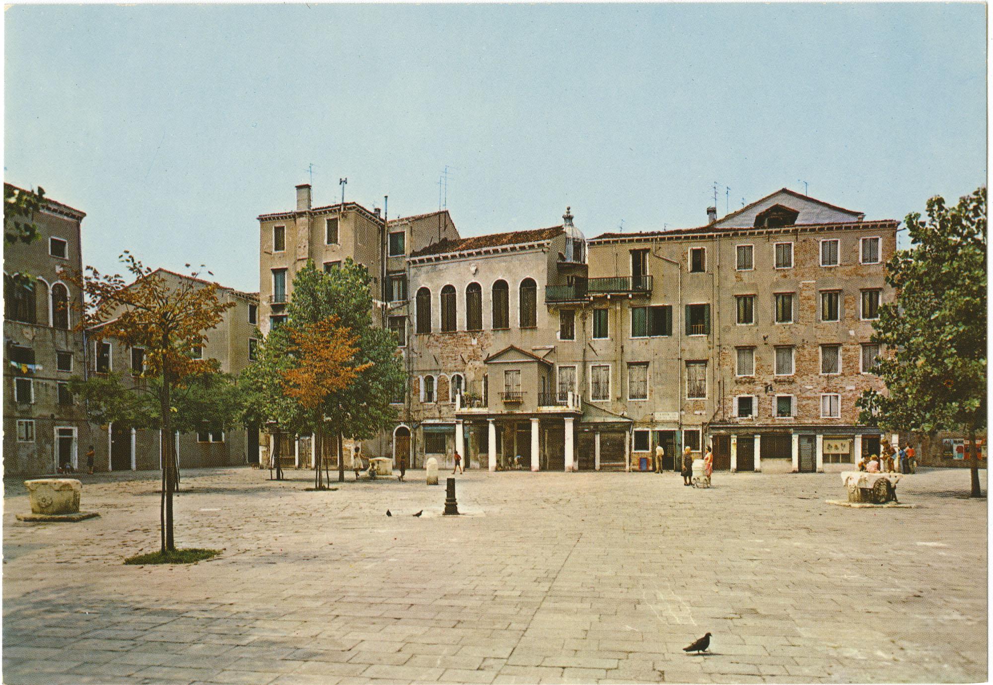 Venezia -- Ghetto Nuovo -- Scuola Tedesca (1528) e Italiana (1575)