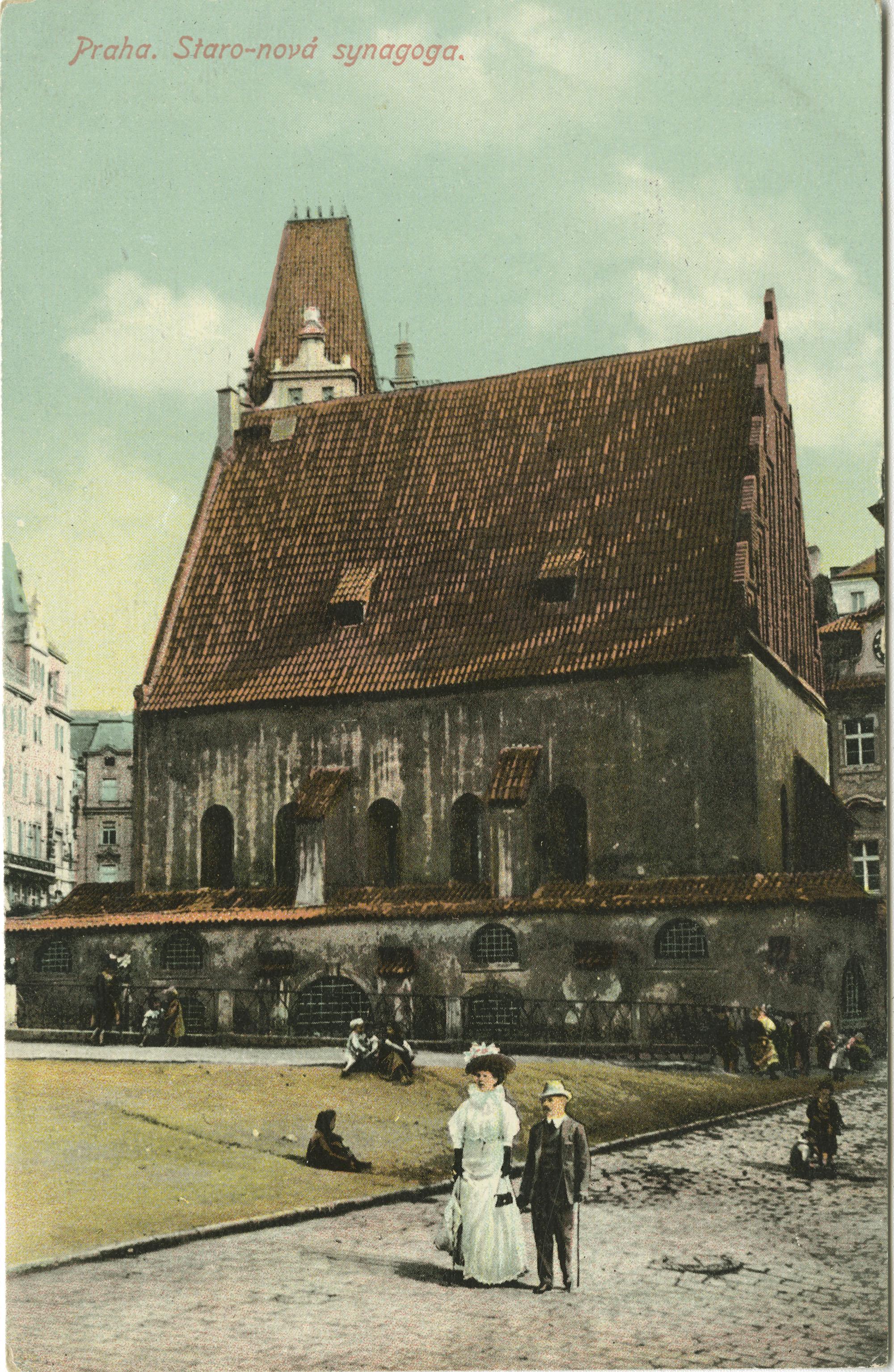 Praha. Staro-nová synagoga.