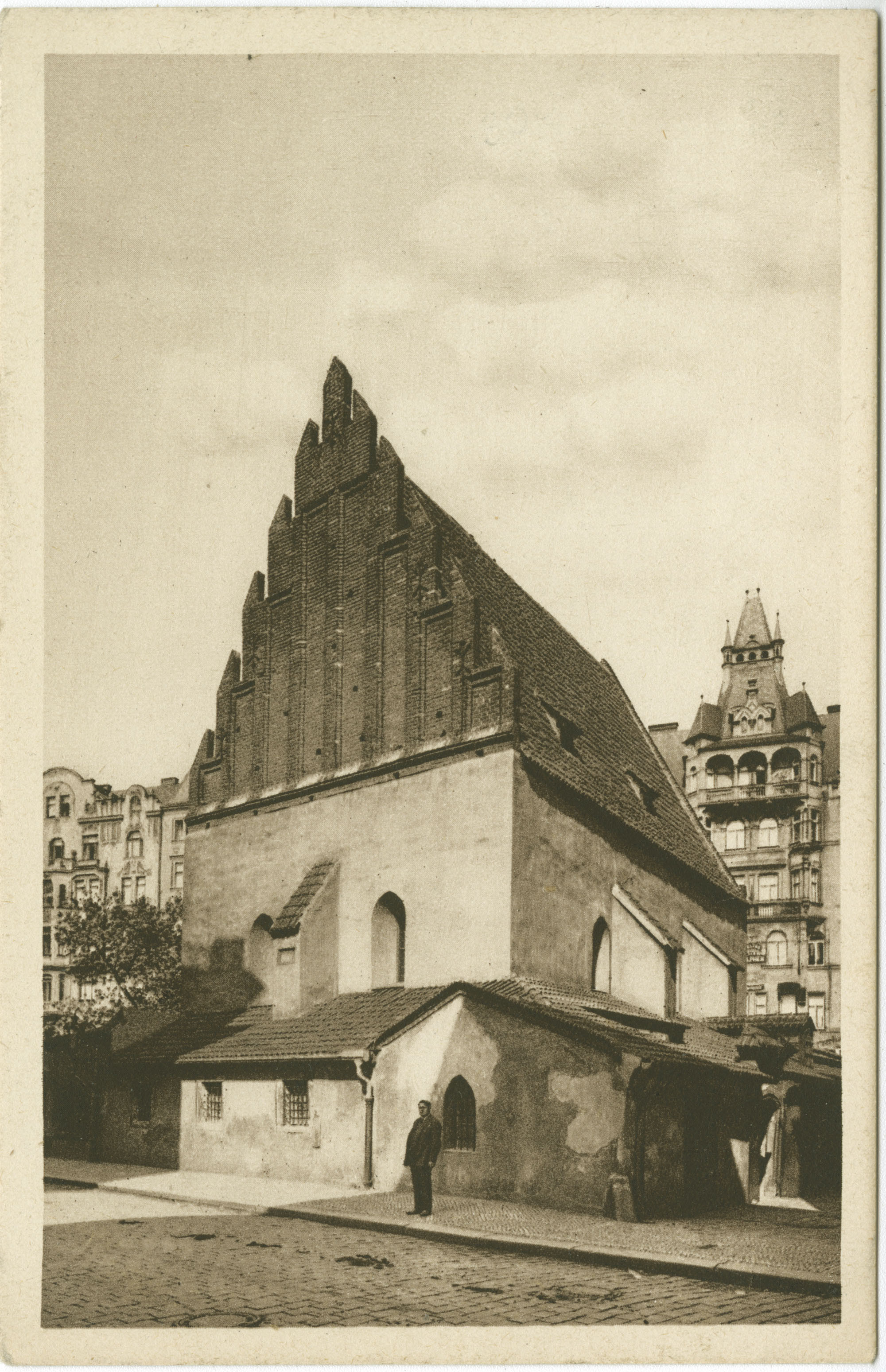 Praha. Staronová synagoga.