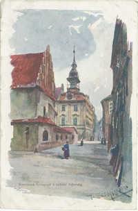 Staronová Synagoga a radnice židovská