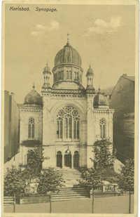 Karlsbad. Synagoge.