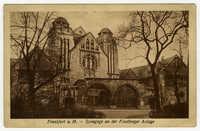 Frankfurt a.M. - Synagoge an der Friedberger Anlage