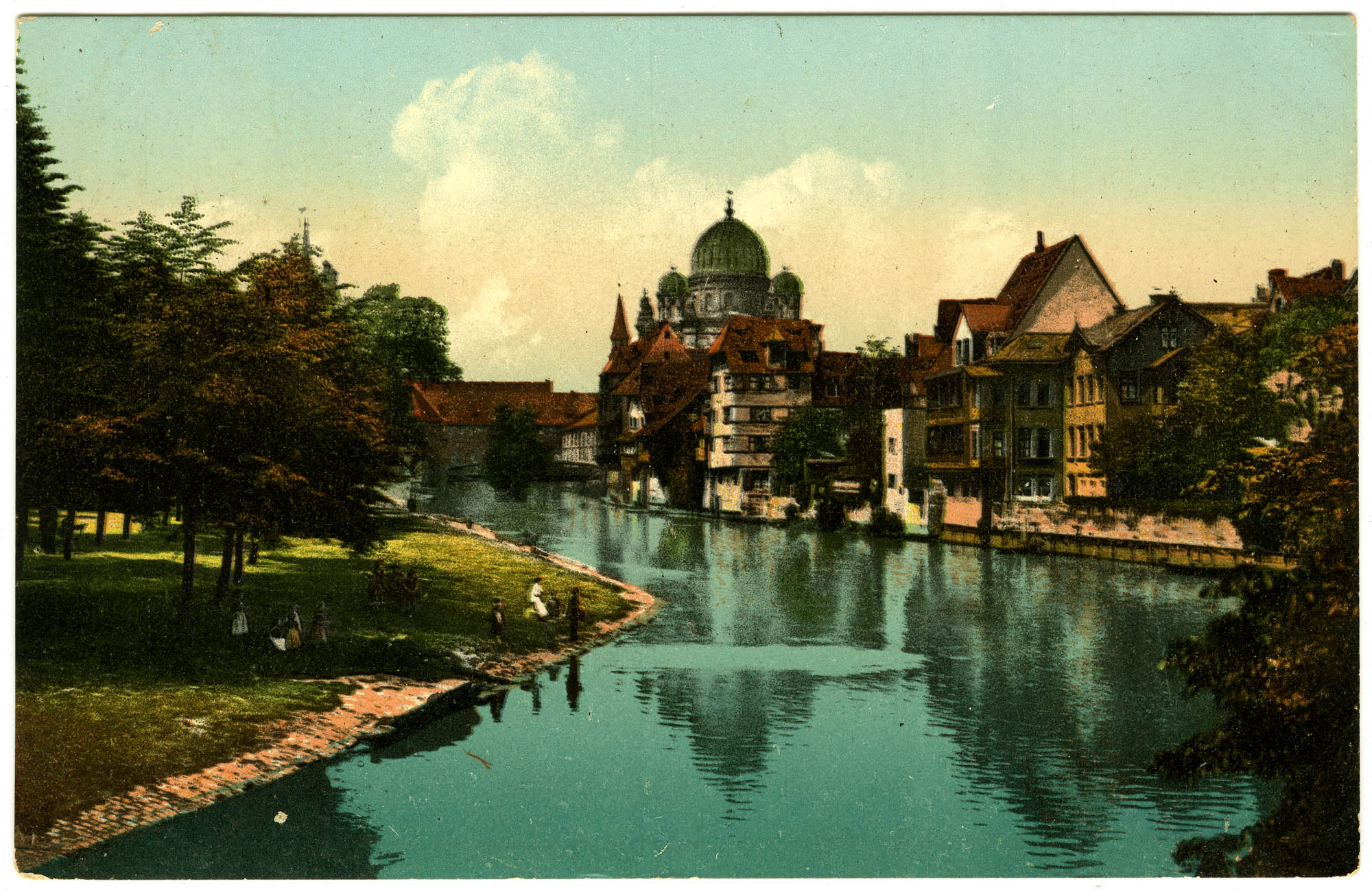Nürnberg. Insel Schütt.