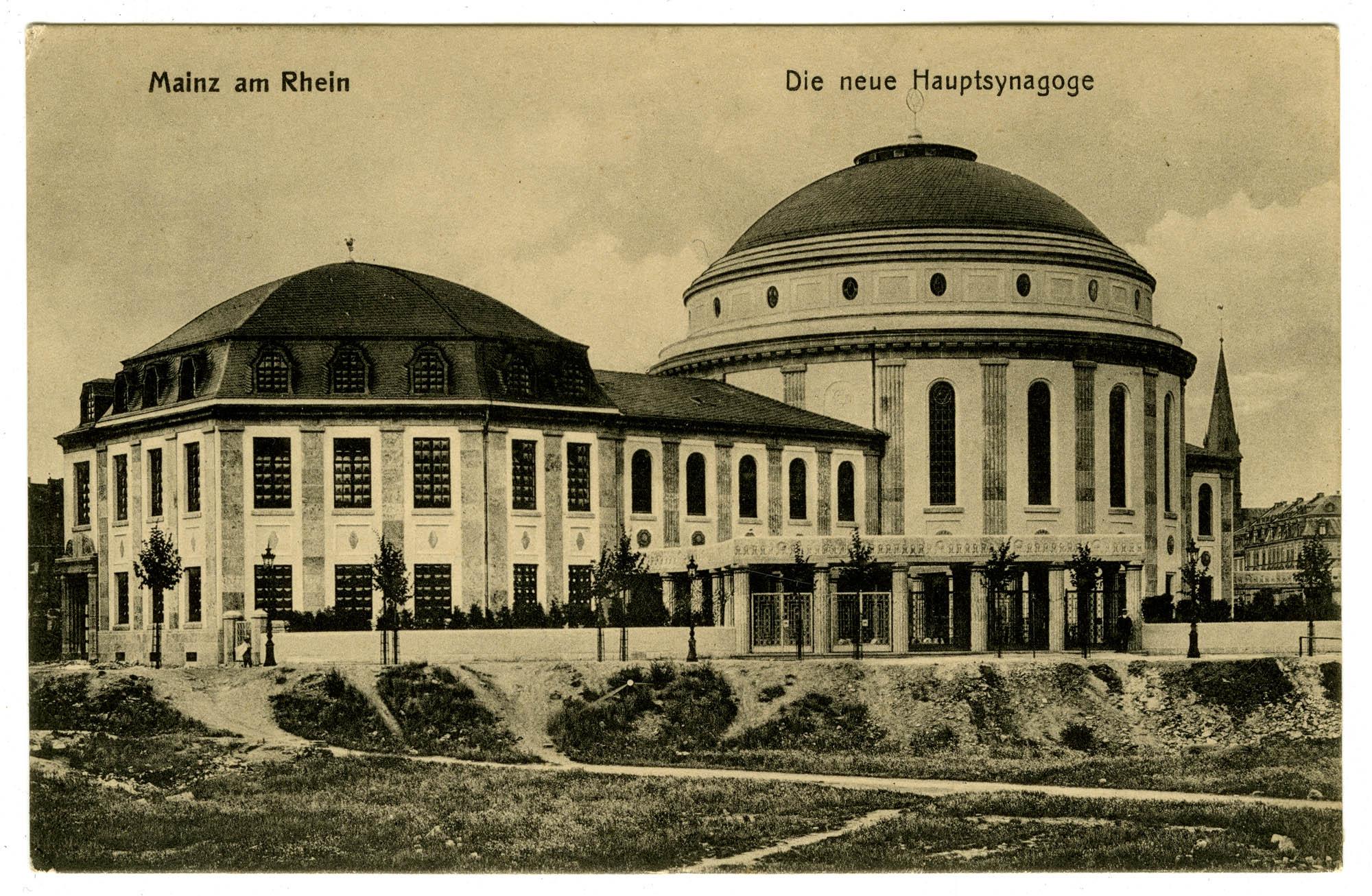 Mainz am Rhein, Die neue Hauptsynagoge