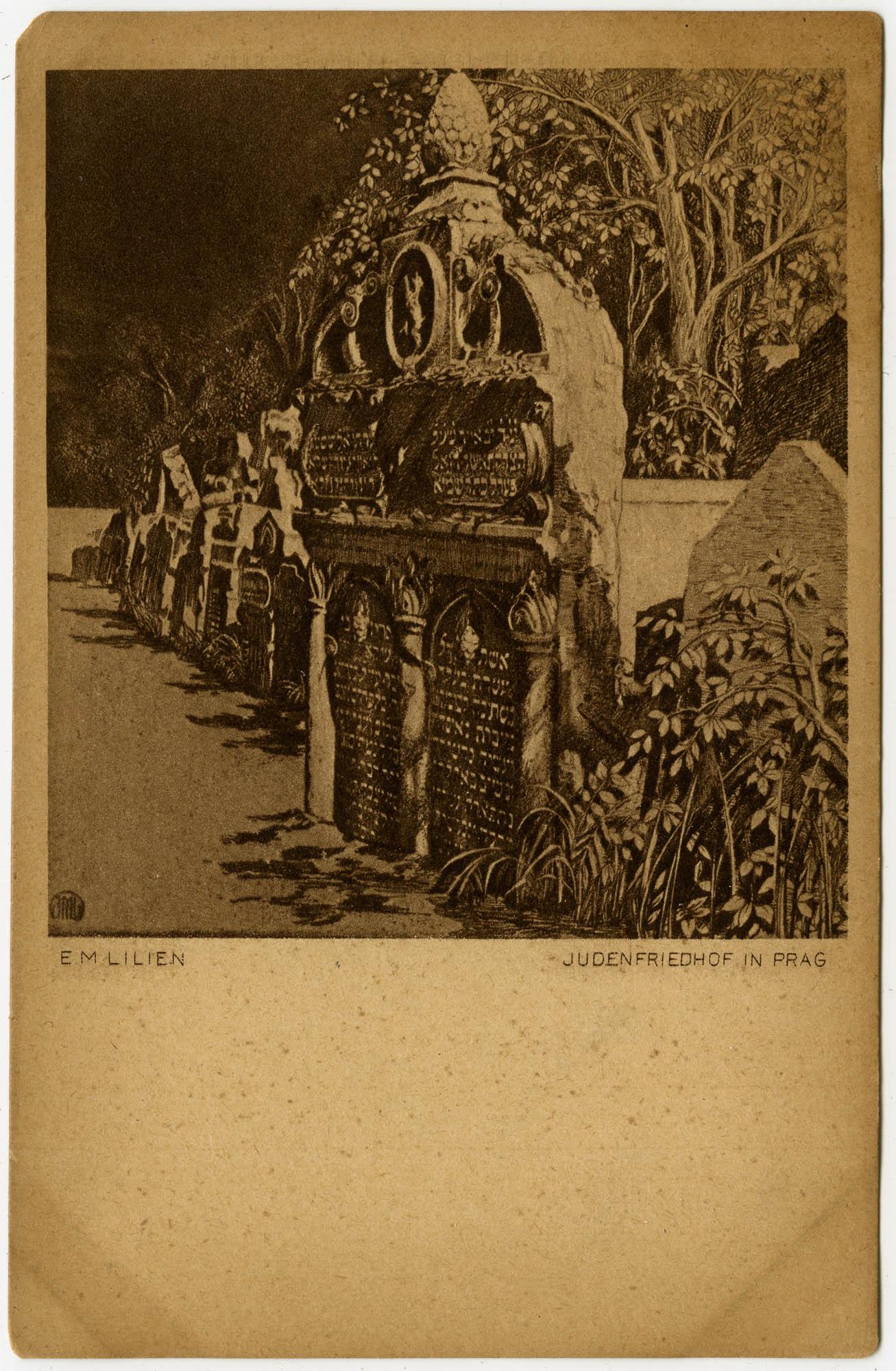 Judenfriedhof in Prag
