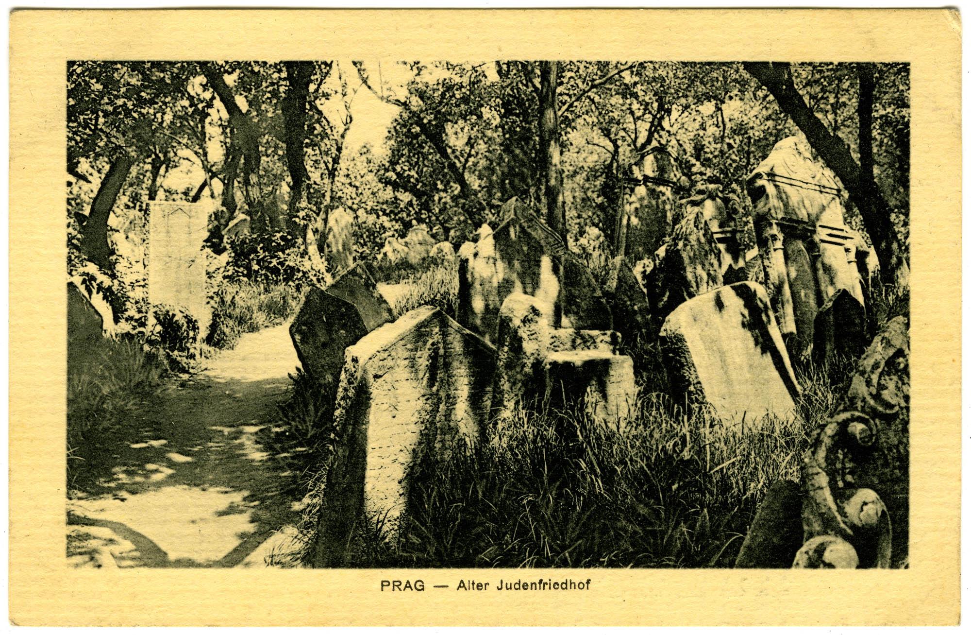 Prag - Alter Judenfriedhof