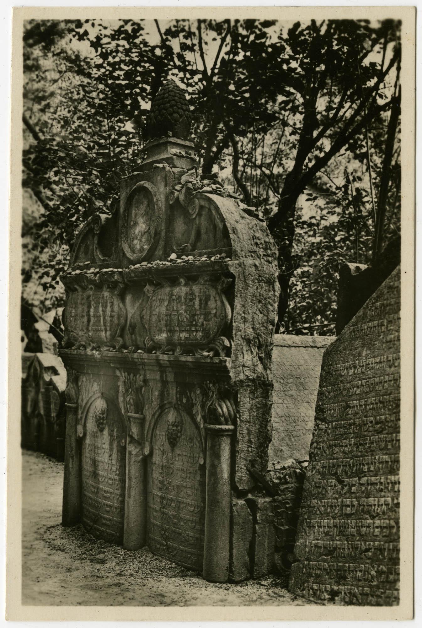 ר' יהודה ליווא בן בצלאל ז''ל (מהר''ל מפראג) שס''ט / Vysoký rabí Lev (1609). / Der hohe Rabbi Löw (1609).