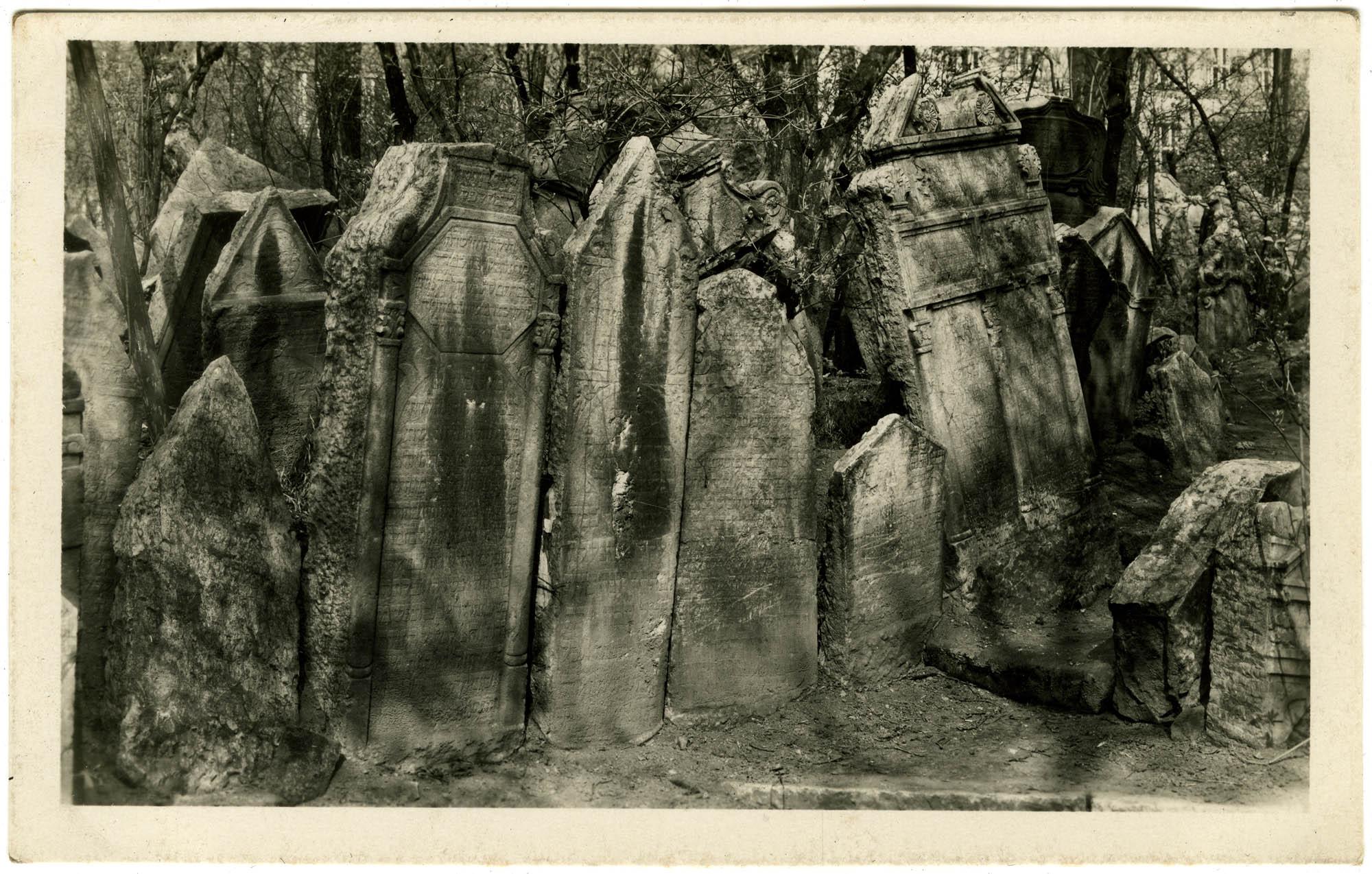 Praha - Židovský hřbitov