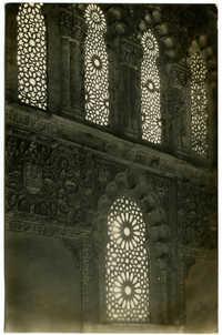 Toledo - Detalle de la Sinagoga del Tránsito