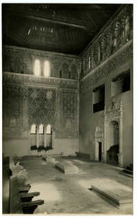 Toledo - Interior de la Sinagoga del Tránsito