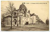 Dijon - La Synagogue, ouverte au culte le 11 Sept. 1879