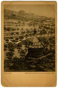 Absaloms Grab und Goldenes Tor