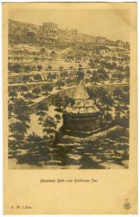 Absalons Grab und Goldenes Tor