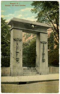 Newport, R.I. Gateway. Old Jewish Cemetery.