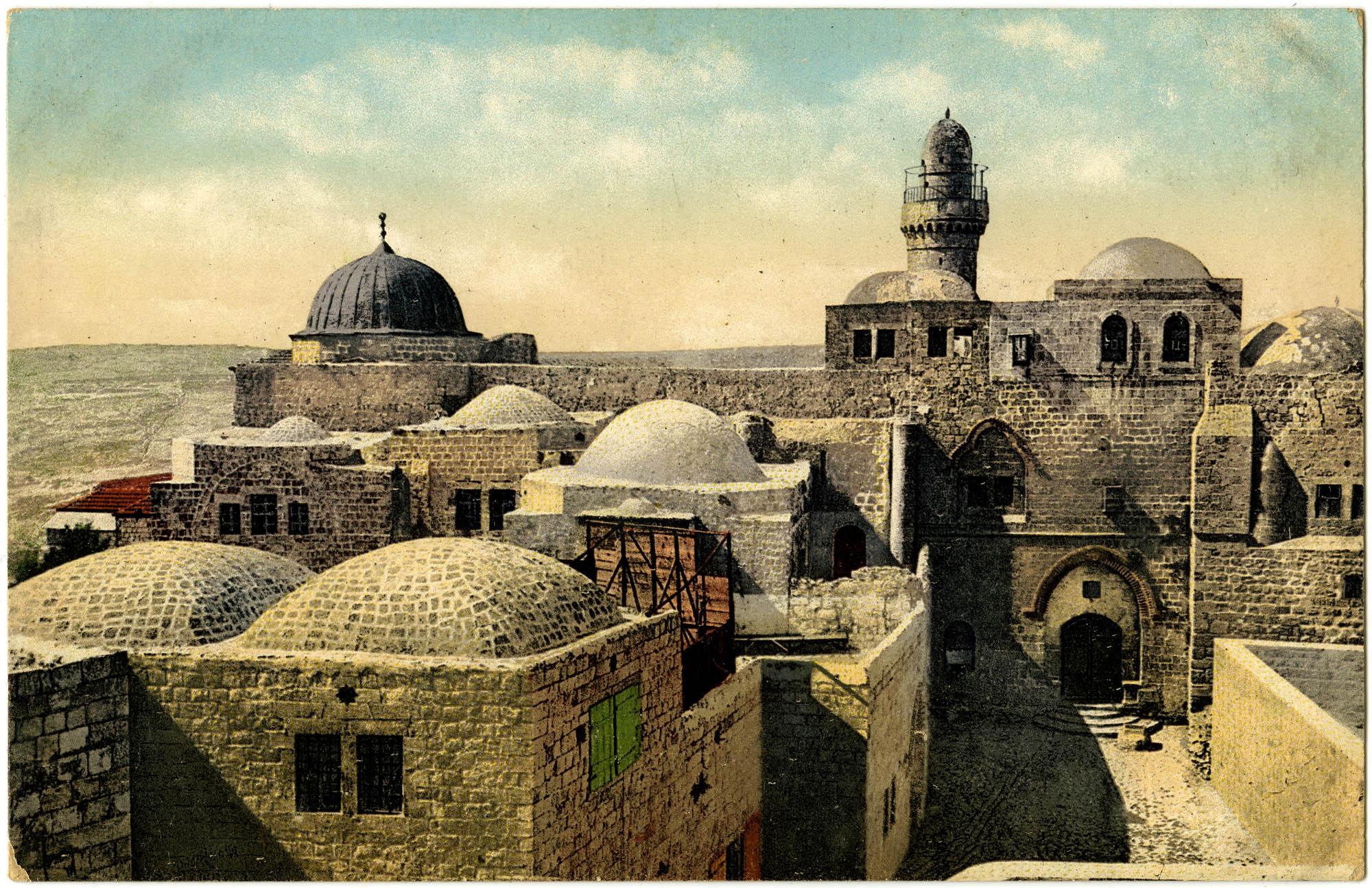 Jerusalem. Tomb of David. / Davids Grab. / Tombeau de David.