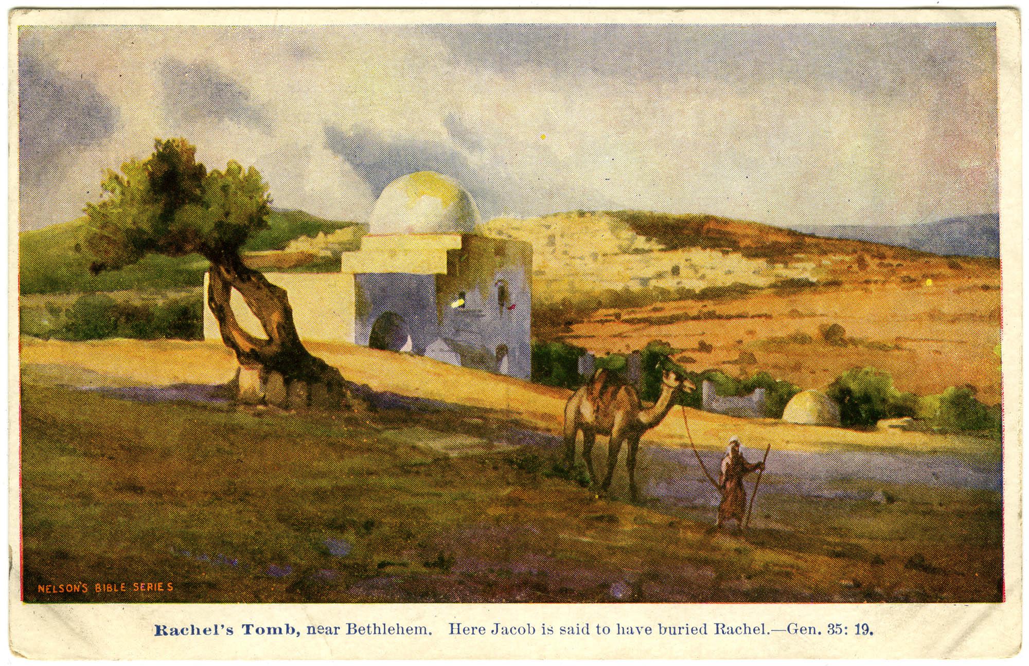 Rachel's Tomb, near Bethlehem