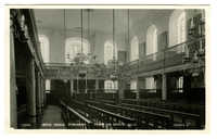 Bevis Marks Synagogue - facing the reading desk