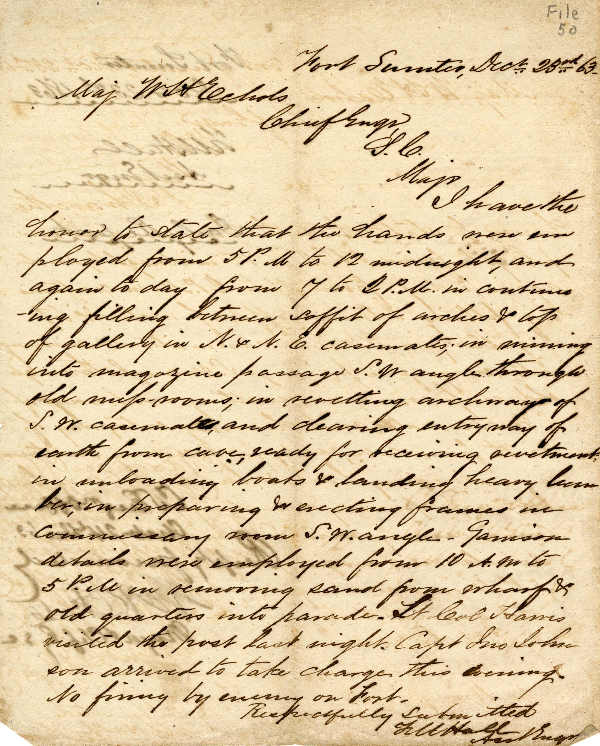 Letter, 23 December