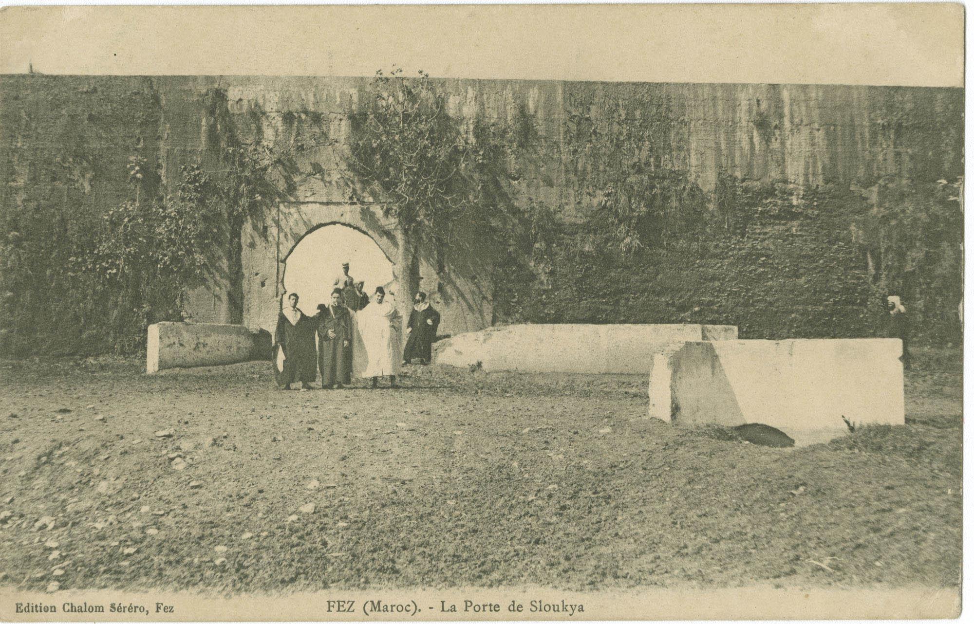 FEZ (Maroc). - La Porte de Sloukya.