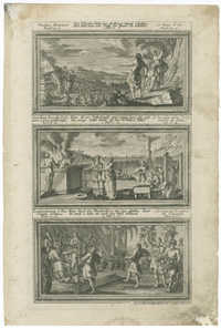 [Vitulus Aureus, Sacrificia secundi Ordinem a Deo præscriptu, Exploratorum a Chananæa reditus]