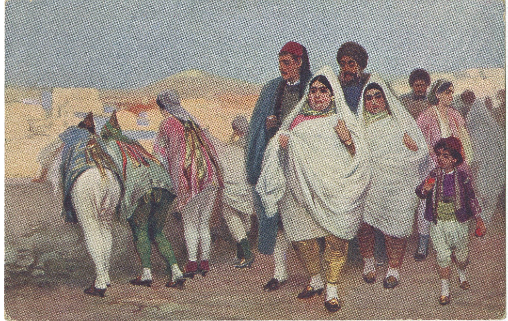 Jews-Promenade in Tunis