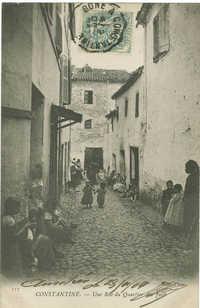CONSTANTINE. - Une Rue du Quartier des Juifs