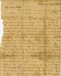Letter from Charlotte Manigault to Ester Gibbes, 1853