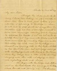 Letter from Charlotte Manigault to Henrietta A. Drayton, 1839