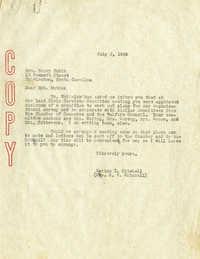 Folder 04: Mitchell Letter 1