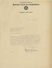 Folder 16: Rogers Letter