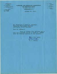 Folder 32: Jervey Letter