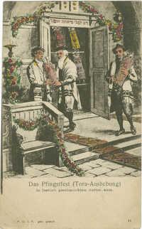 Das Pfingstfest (Tora-Aushebung)