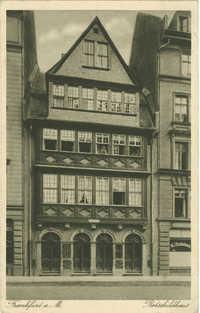 Frankfurt a. M. Rothschildhaus.