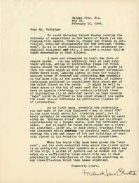Folder 20: Olmsted Letter 9