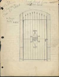 196 Nassau Street gate