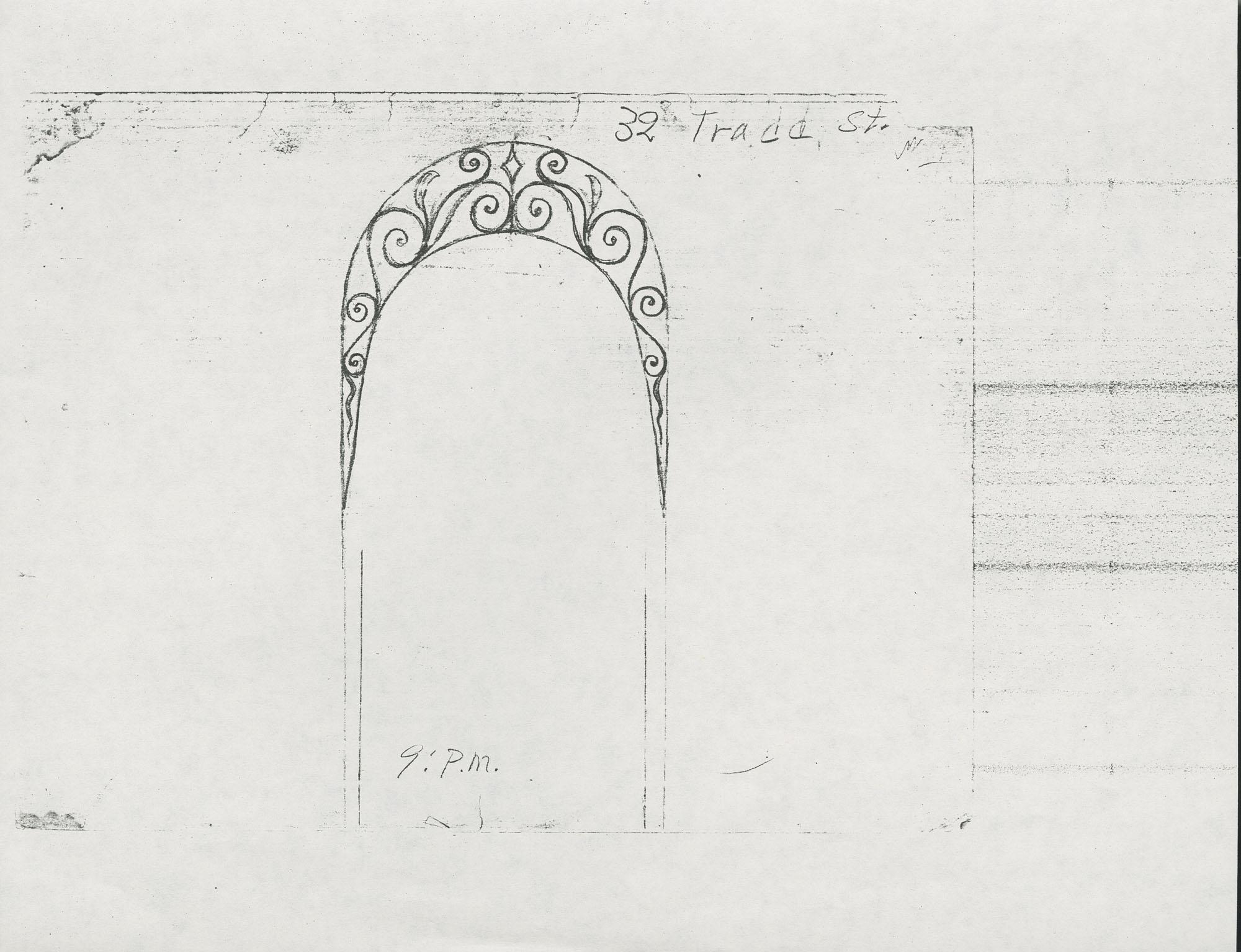32 Tradd Street archway