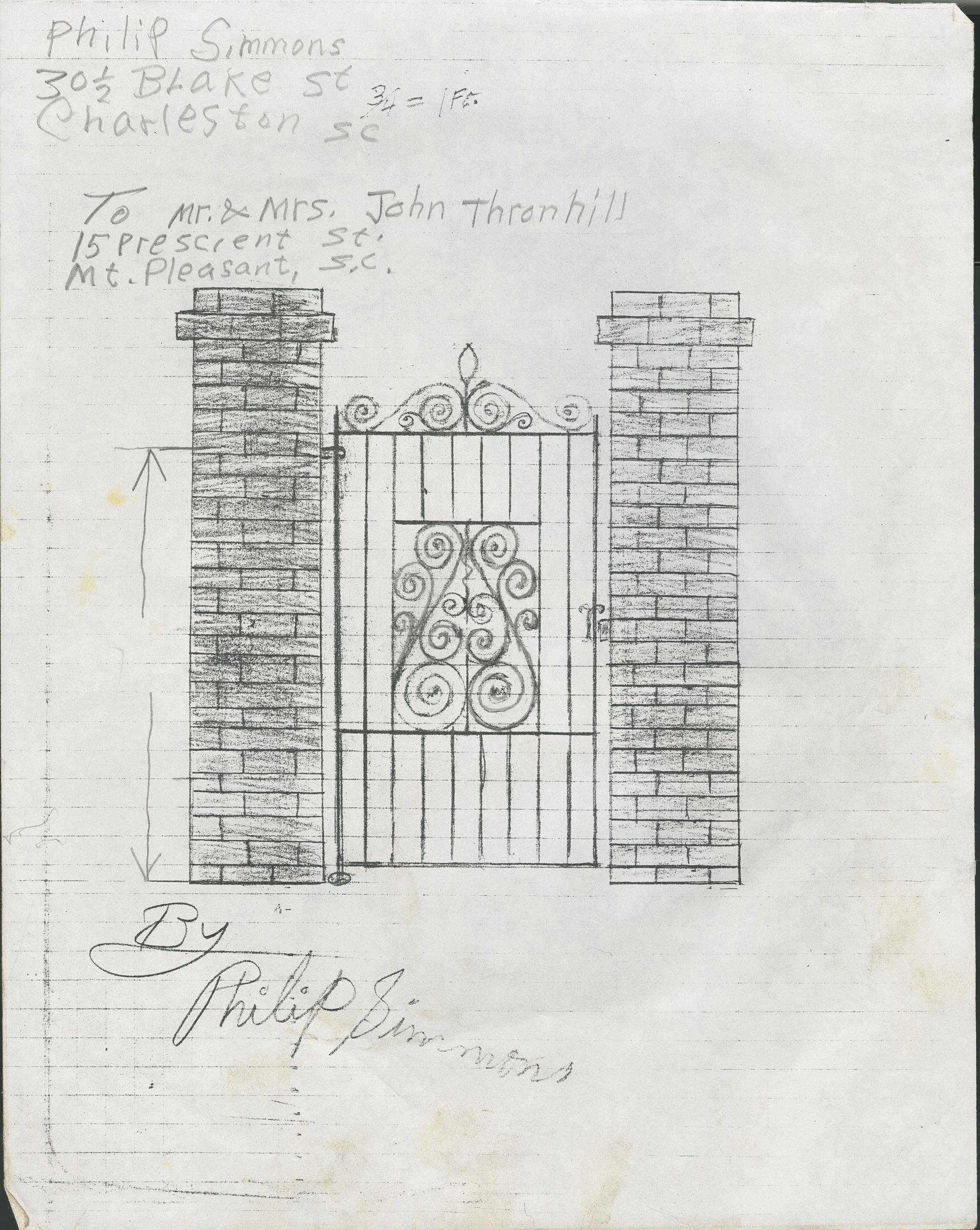 15 Prescient Street gate