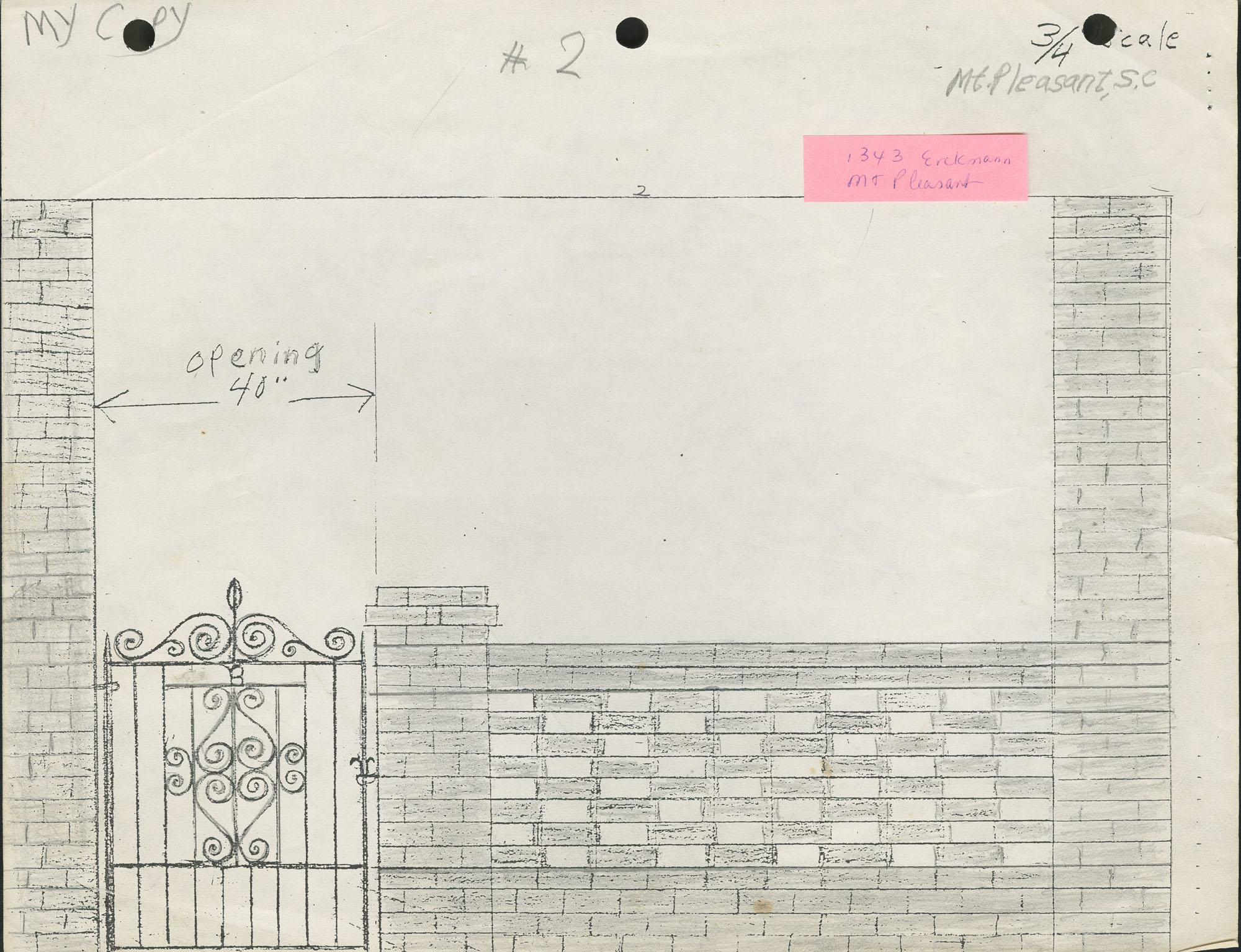 1343 Erckmann gate