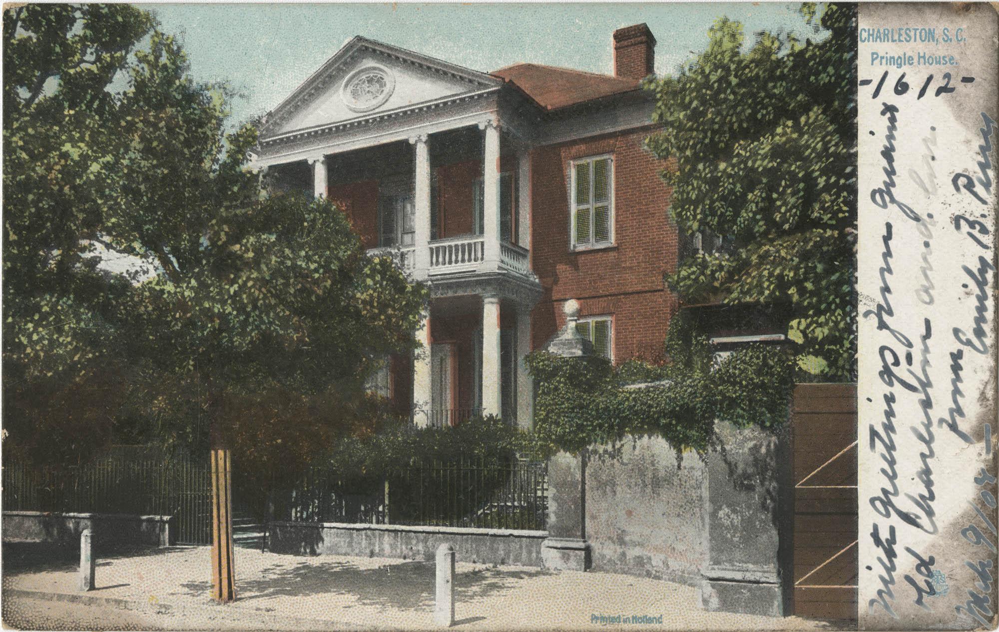 Charleston, S.C. Pringle House