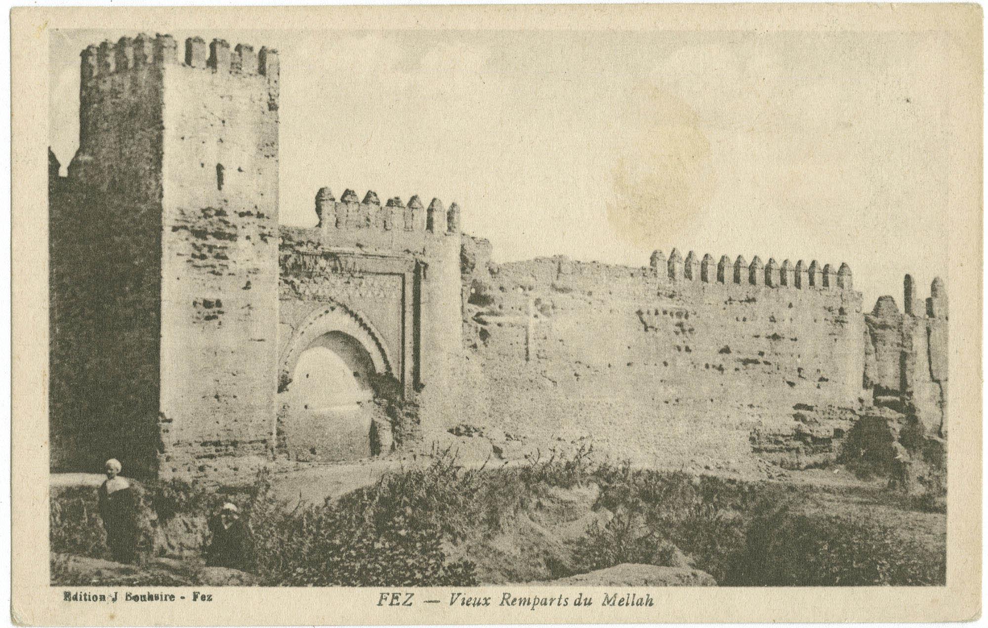 FEZ - Vieux Remparts du Mellah