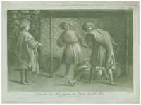 L'Ebrietà di Noè, pittura di Paolo Uccello Fior